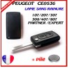 PLIP CLE PEUGEOT CITROEN 0536 2 BUT LAME LA2